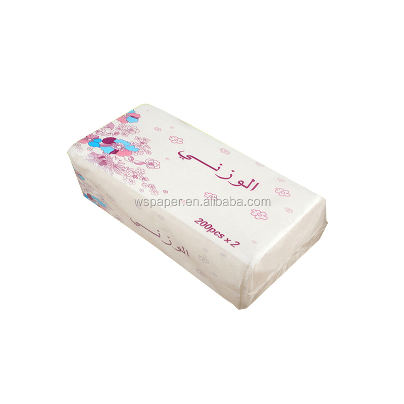 Promotional 2ply 3ply soft pack facial tissue factory manufactory