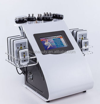 6 in 1 ultrasonic cavitation and lipo laser henco beauty machine factory