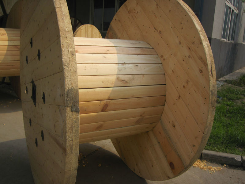 Indonesia Wooden Cable Drum Cable Reel Drum Empty Wooden