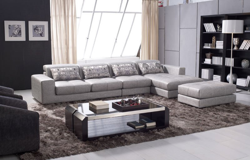 Contemporary Home Center Sofa Furniture Cheap Modern Sectional Sofa
