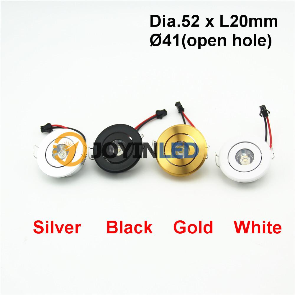 gold farbe 3 watt mini led strahler startseite kabinett einbau led deckenstrahler led downlights. Black Bedroom Furniture Sets. Home Design Ideas