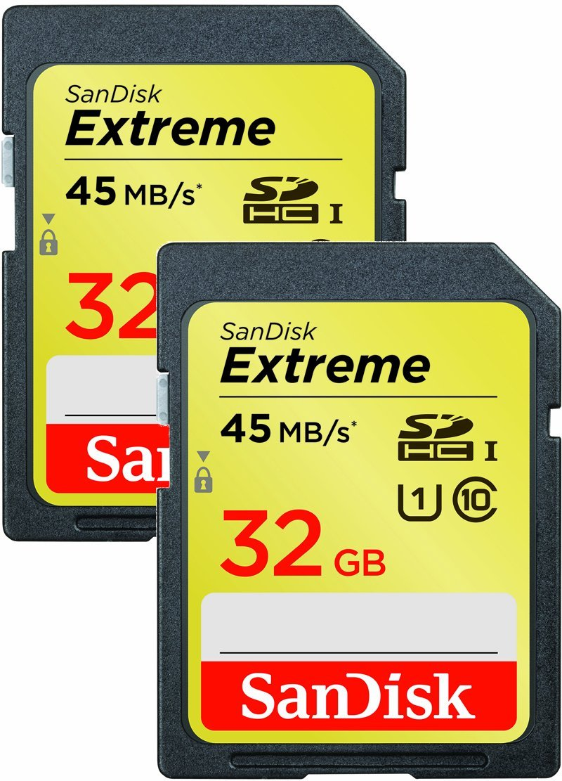Cheap Sandisk Extreme Sd Card 32gb Find 32 Gb Sdhc Uhs 1 90mb Get Quotations Class 10 2 Pack