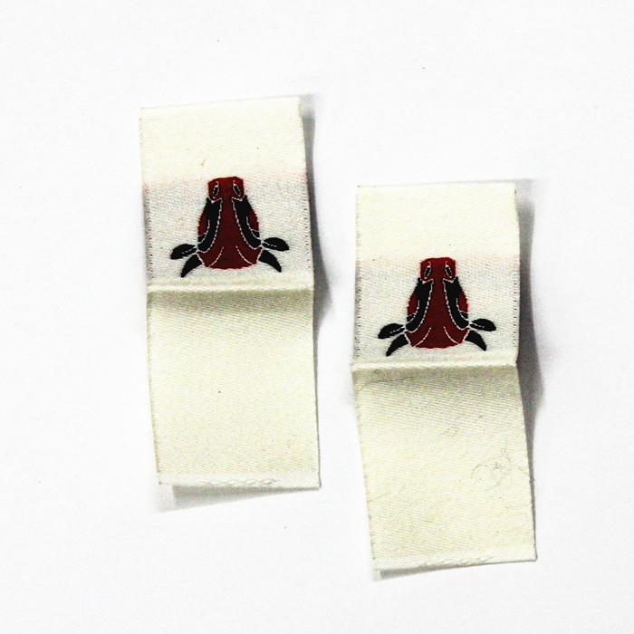 Wholesale Sew-on Woven Label for Clothing Apparel Main Label