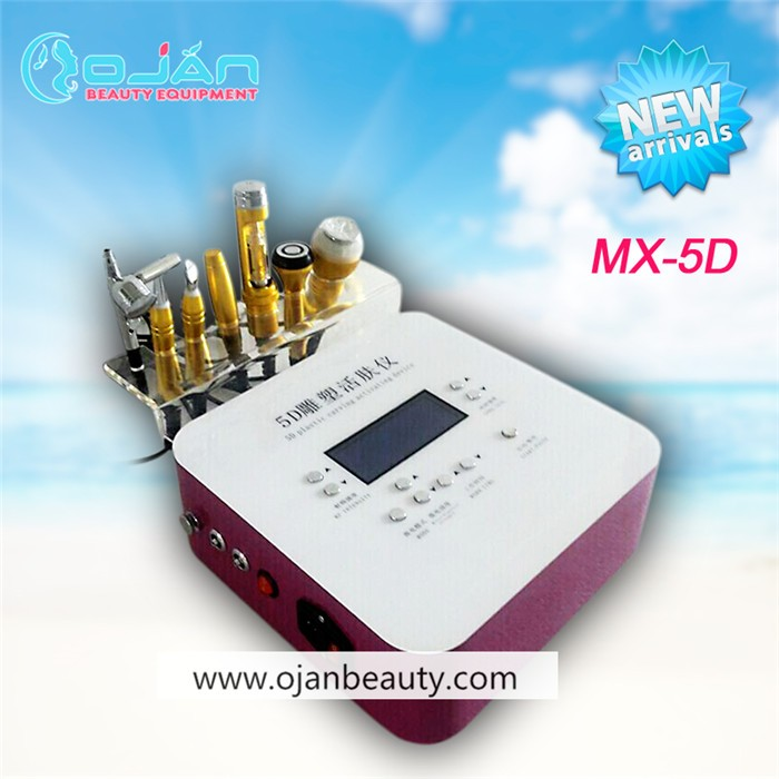 Newest 7 in 1 no needle mesotherapy beauty machine(CE Approved)