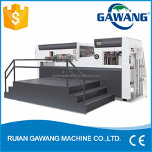 Volume Supply Quality Assurance Automatic Die Cutting and Creasing Machine