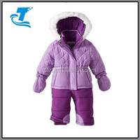 Baby-Girls Infant Diamond Quilted Bubble Snowsuit