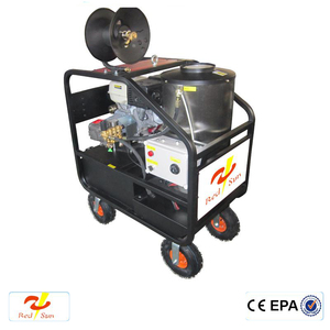 Recoil/ Electric engine cleaning equipment commercial 4000psi pro-power high pressure washer with 13 inches pneumatic wheels