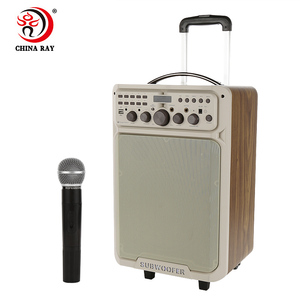 Competitive price 12 inch portable multifunction trolley Karaoke/DJ/Stage Tie Rod speaker