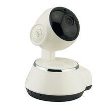Smart Home Security Digital Zoom Mini Robot IP Network Camera With Microphone And Speaker