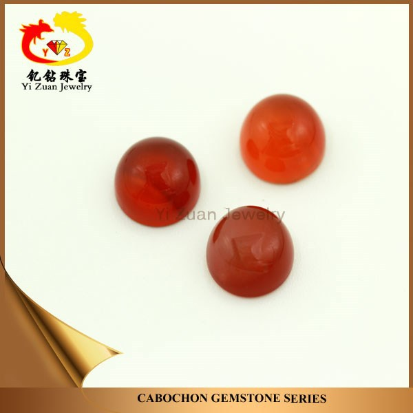 Wonderful natural round oval cabochon rough agate stone blood red agate