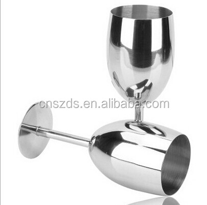 304 Stainless Steel Wine Cup Champagne Goblet Cup Party Wedding Wine Cup