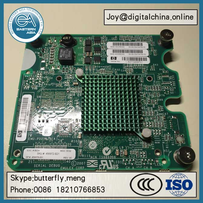 Original New! HP Infiniband QDR/Eth 10Gb/40Gb 2-port 544M Adapter 644160-B21