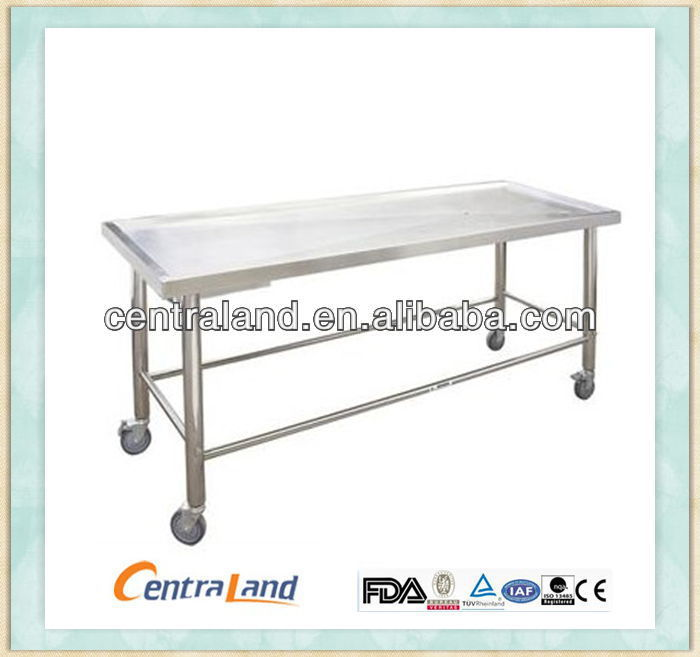 2015 Embalming Table mortuary equipment