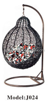 Professional Manufacturer Hanging Egg Rattan Balcony Garden Swing Chair