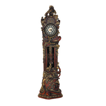 A picture of a grandfather clock