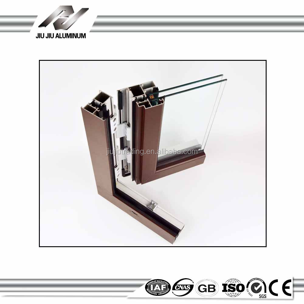 New Building Materials 6063 t5 aluminum extrusion profiles for windows and doors