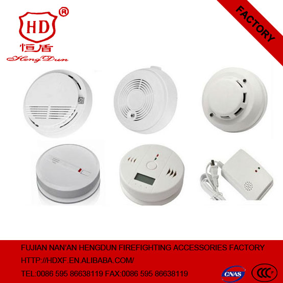 Household electrochemical co alarm system with lcd displaying