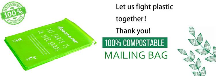 Grote Custom Ecologische Plastic Mailing Zak voor Schoenen