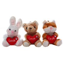 plush pink bear i love you teddy bear gifts for valentine day