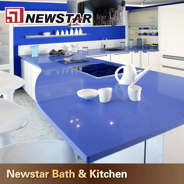 Newstar artificial granite stone table tops pattern