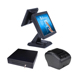 Hot sale touch screen pos system cash register pos terminal double screen pos