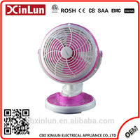 2017 Top Quality Popular 6 clip fan with 3-Speed Side Switch