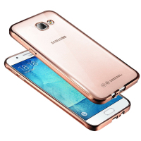 Electroplating clear tpu soft mobile bags transparent high quality covers for samsung galaxy A9