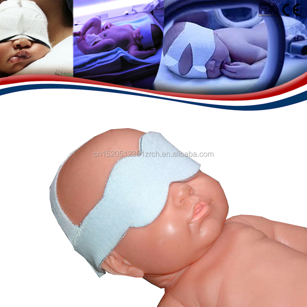 Disposable Eye Shield Surgical, Eye care treatment for neonatal jaundice