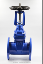 F4 Rising Resilient Seated Long Stem Gate Valve DN100 PN16