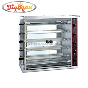 Vertical rotary Chicken Rotisseries for sales JGT-6P for 30 chickens
