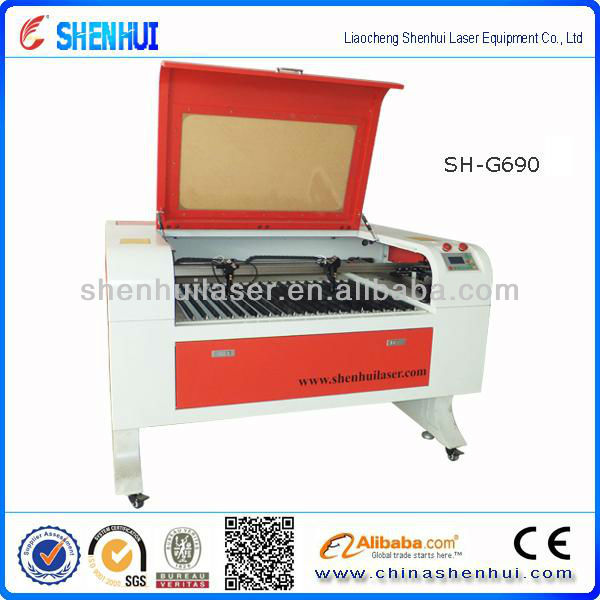 hot sale SH-690 <strong>laser</strong> cutting machine & <strong>laser</strong> engraving machine