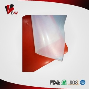 Cheap high temperature clear thin transparent silicone rubber sheet