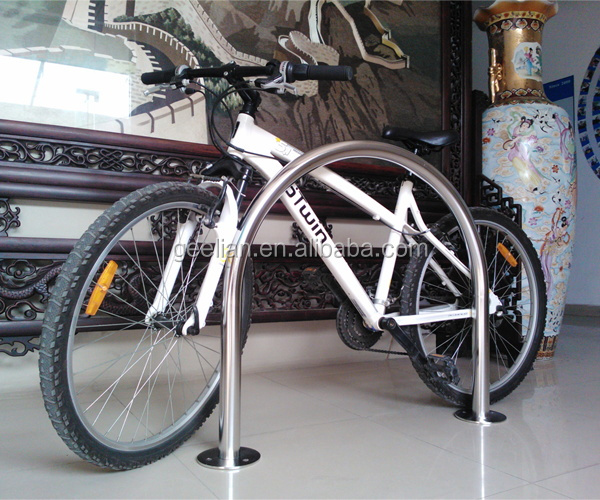 """Inverted U"" type bike rack/bike cycle shelters stand(ISO approved)"