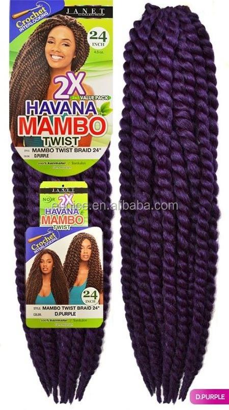 2015 New Fashion Alibaba Express Hotting Havana Mambo Twist Crochet Braids  2x Havana Mambo Braiding Twist Hair , Buy 24 Inch Human Braiding