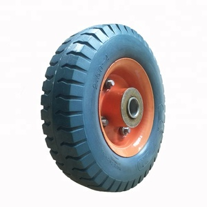 Factory Directly PU Cart Wheels And Axles