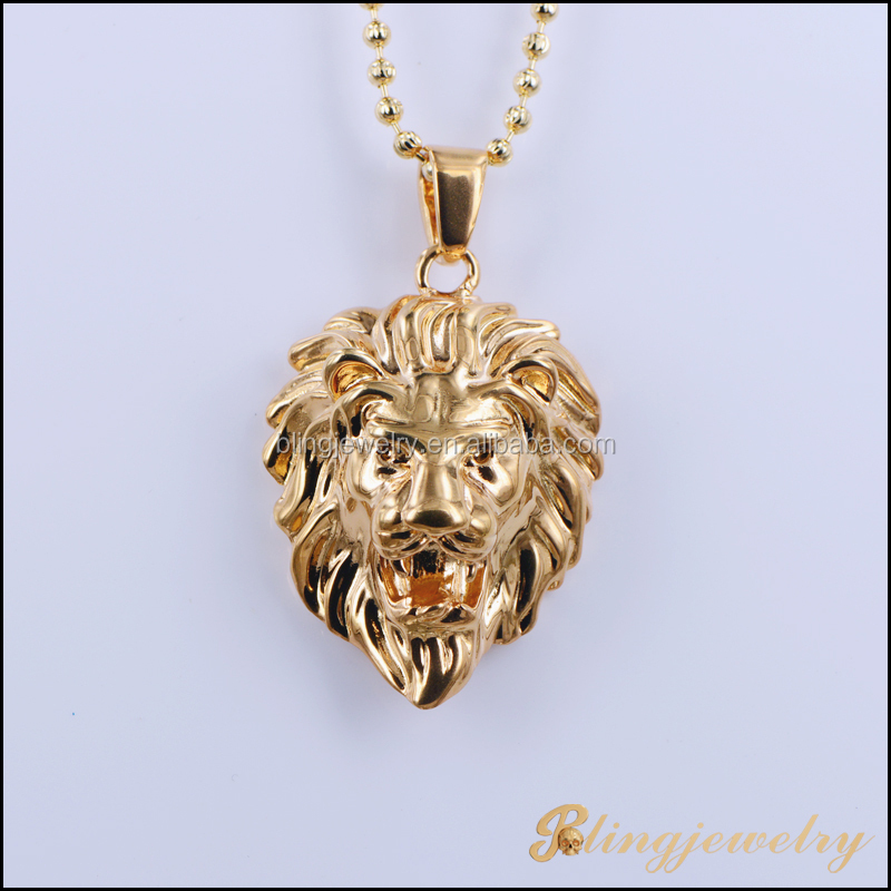 Hip Hop Bling Bling Moon Cut Chain Necklace New Gold Chain