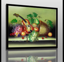 Factory sells New design wall painting,still life Fruits Canvas Oil Painting