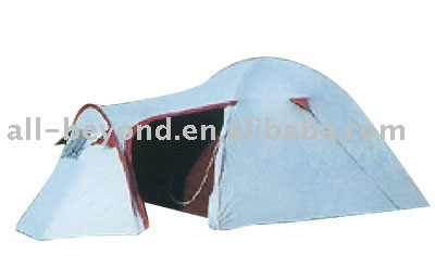3 season outdoor 190T polyester 3 person camping tent