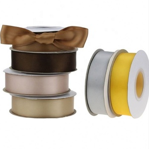 Polyester single face and double face satin ribbon belt