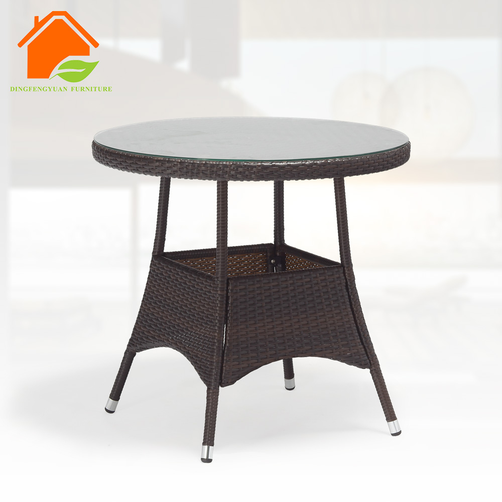 butterfly aluminum dining table