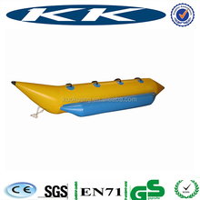 Good Quality 0.9mm PVC low price hot sale inflatable banana boat for sales