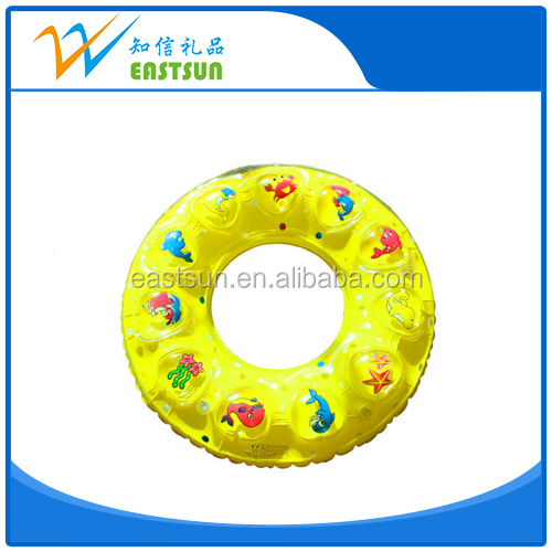 Baby inflatable pvc swim ring