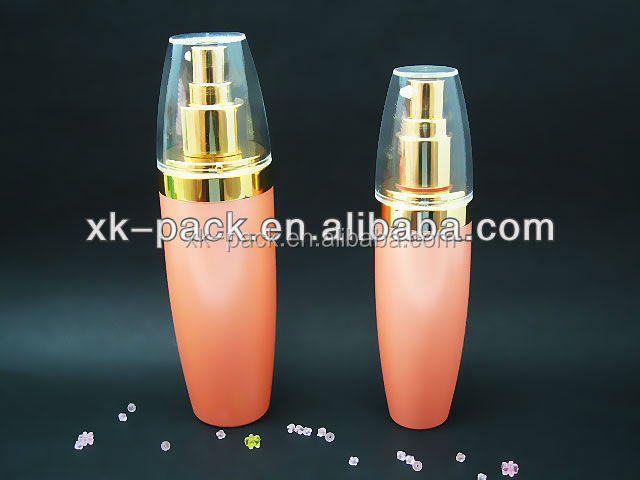 plastic PET lotion bottle for pharmaceutical with aluminum pump