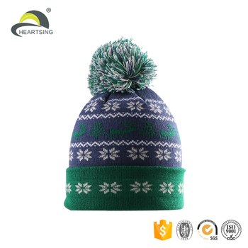 fashion lime green girl 2 pom pom skateboarding wool knit cat beanie baby  hats with logo ec99e88a582