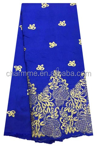 2016 New year indian george lace Design CCL-7G077 african lace fabric