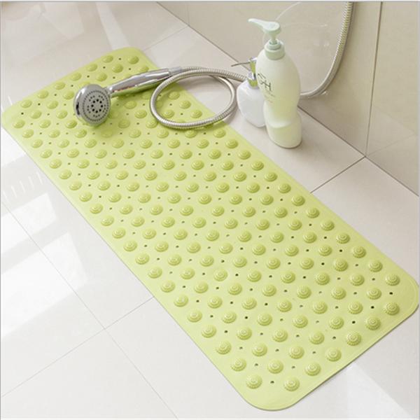 salle de bains sur mesure bulle antidérapant tapis de bain