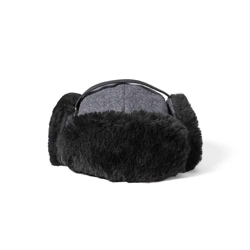 1a525f1351d Buy Filson Shearling Trapper Hat - Charcoal - Large in Cheap Price ...