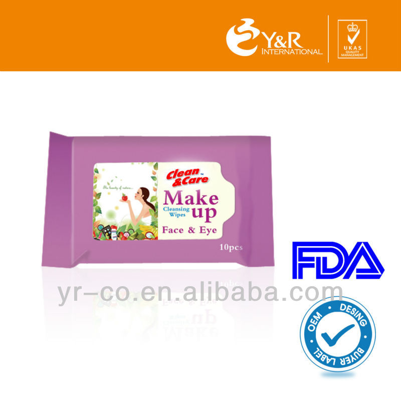 make-up remover Wet Wipes,non-woven cloth wipes