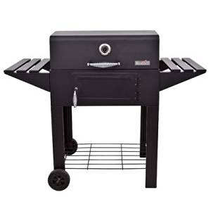 BBQ Charcoal Grill Barbecue Smoker Camping Cooker Pit Patio Smoker Black  Small Grills Pit Trailer Vertical
