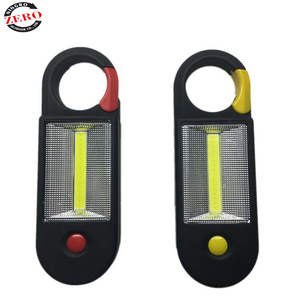 Strong light Rohs free sample Hook Waterproof portable LED 3w rechargeable cob led work light